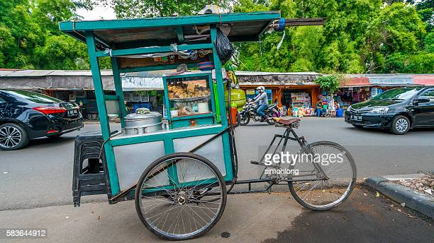 Mobile food cart, Jakarta,Indonesia