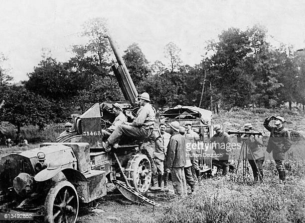 A mobile French antiaircraft gun at the Somme The Battle of the Somme was a major First World War battle in which both Britain and Germany suffered...