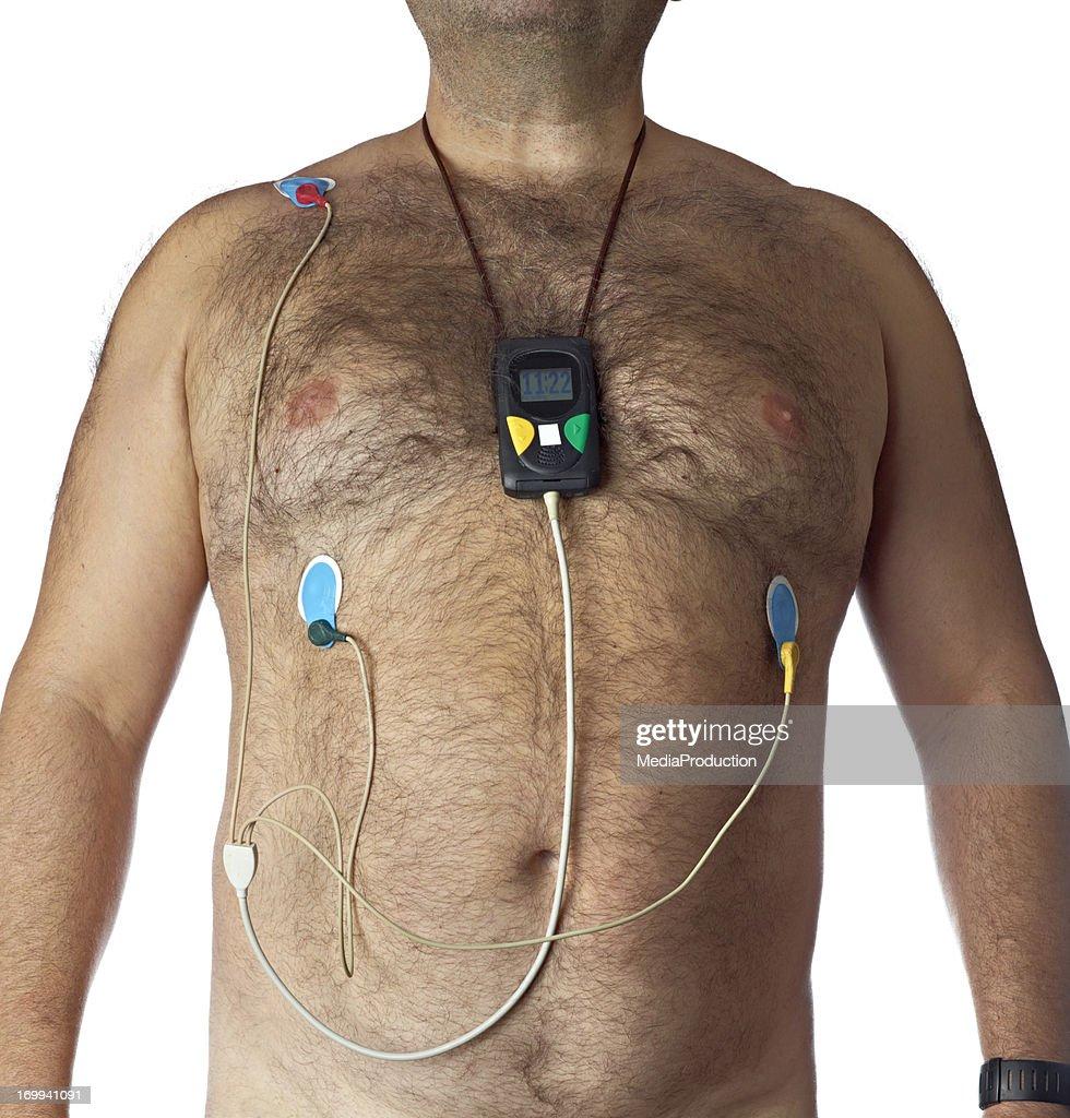 Mobile heart monitor : Stock Photo