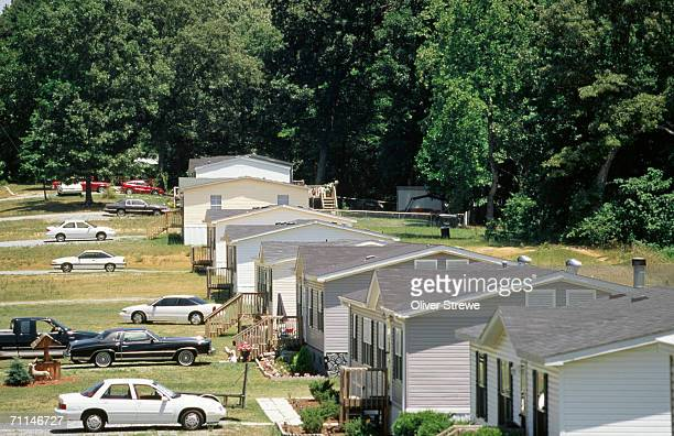 mobile homes, blacksburg, united states of america - blacksburg stock pictures, royalty-free photos & images