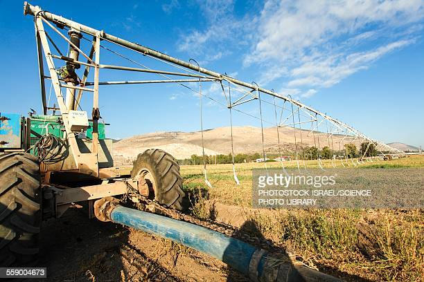 mobile irrigation robot - photostock stock photos and pictures