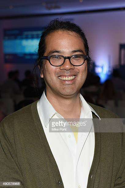 Mobile Labs Director of Engineering and Data Science Jason Uechi poses at the The Location Summit panel presented by The Weather Company during...