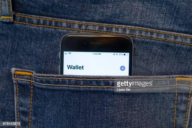 pagamento móvel - apple computers - fotografias e filmes do acervo
