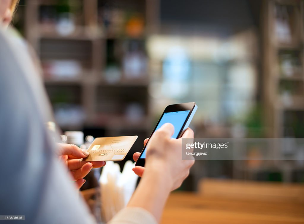 Mobile payment : Stock Photo