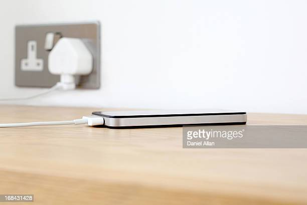 Mobile Phone being charged