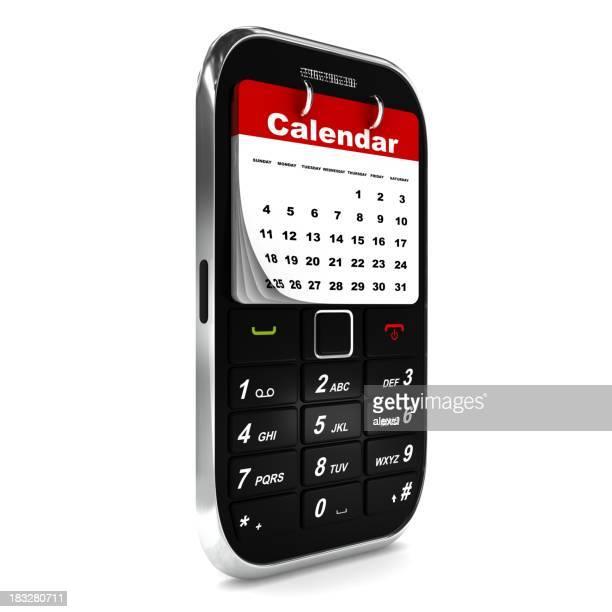 Téléphone Mobile calendrier