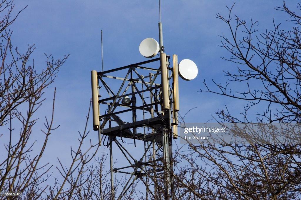 Mobile Phone Mast, UK : Nieuwsfoto's