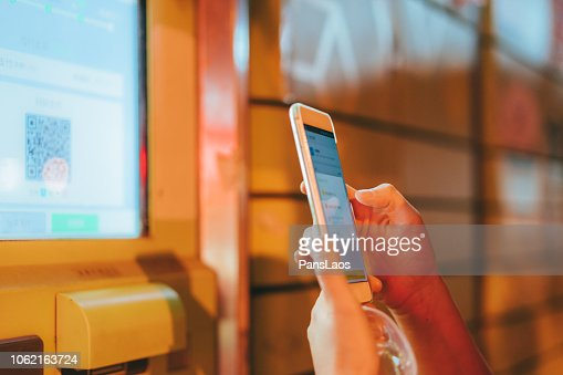 Concept Of Scanning Qr Code From Mobile Phone New