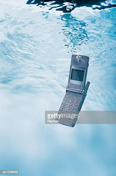 Mobile Phone Underwater
