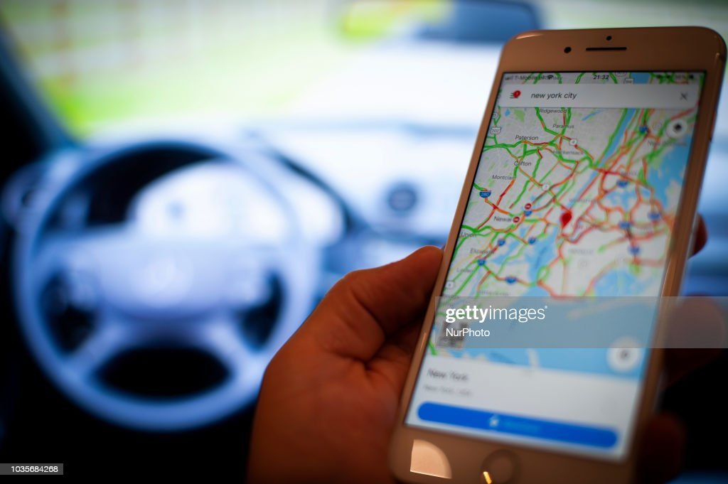 Google to provide Android operating system for media displays in cars : News Photo