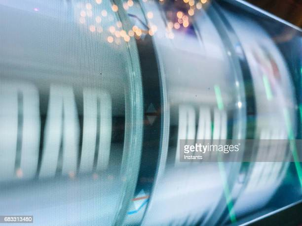 mobile photography of a slot machine reels while turning, in a las vegas casino. - traditional ceremony stock pictures, royalty-free photos & images