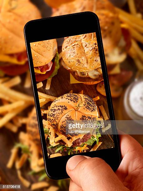 mobile photography of Gourmet Mini Burgers