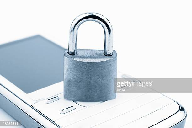 mobile security - elektronische organiser stockfoto's en -beelden