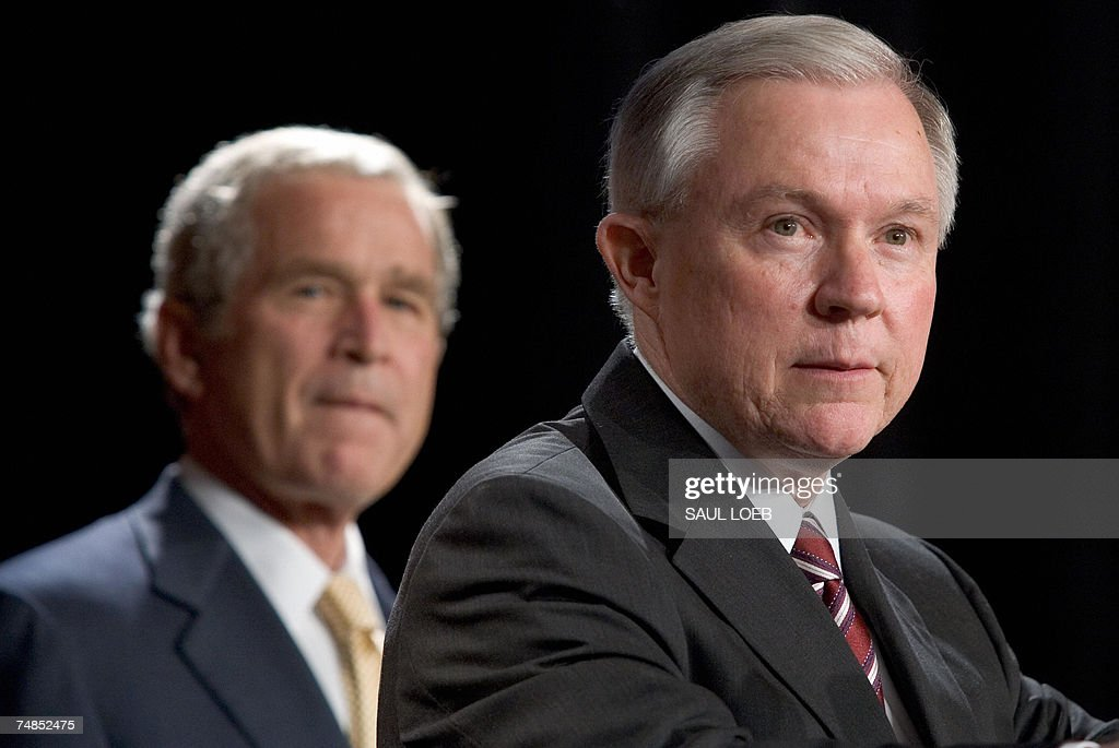 Bush Attends Jeff Sessions Senate Committee Reception