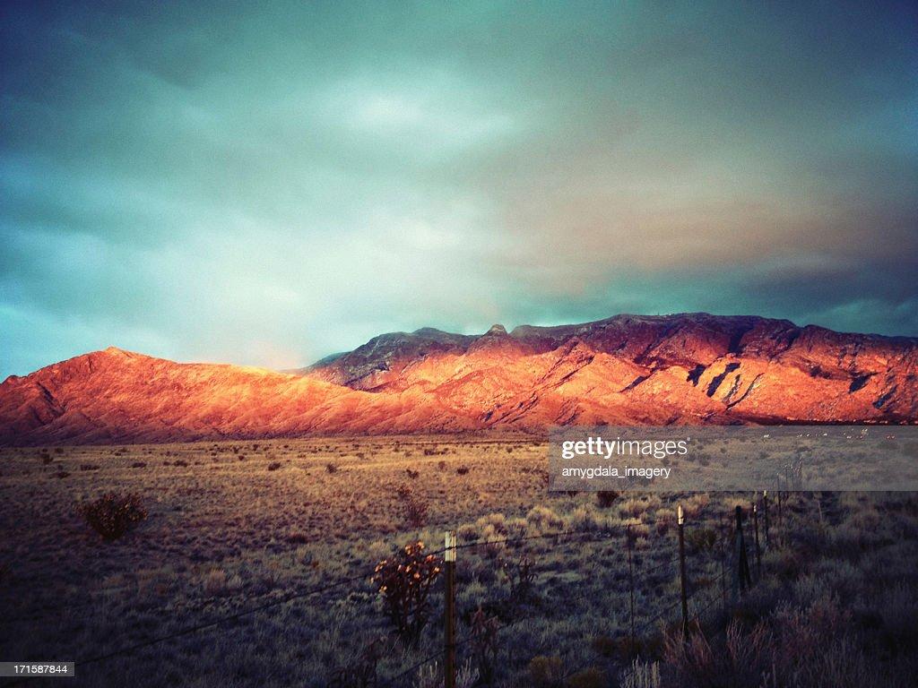 mobilestock landscape mountain sunset : Stock Photo