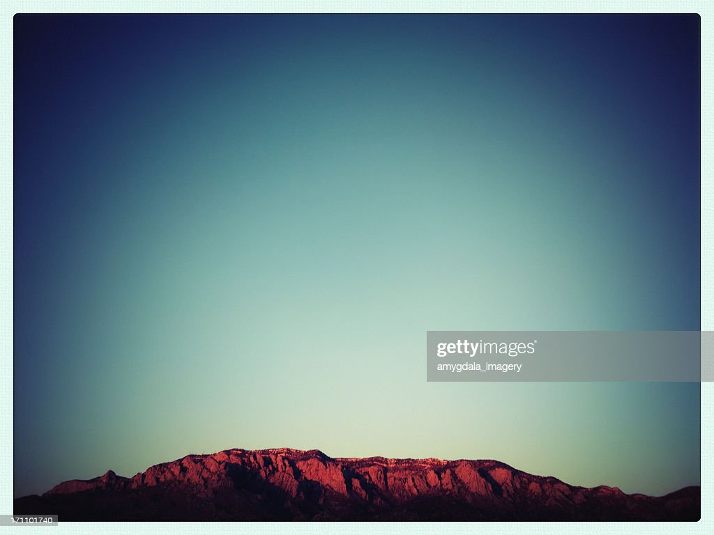 mobilestock mountain sunset landscape : Stock Photo