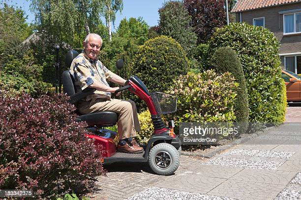 mobility scooter - mobility scooter stock photos and pictures