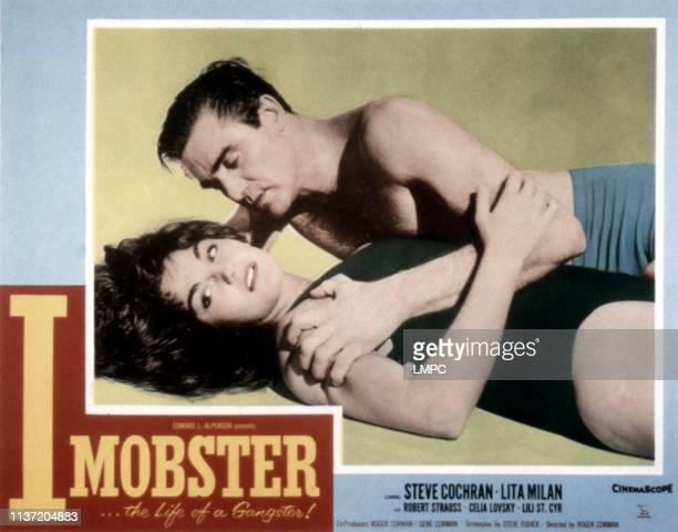I Mobster poster Steve Cochran Lita Milan 1958