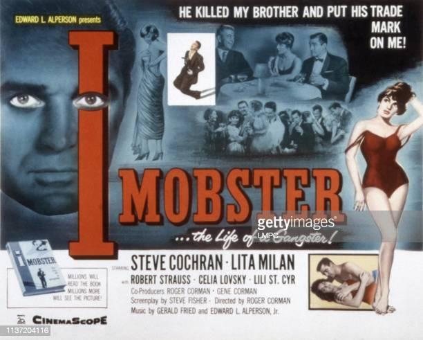 I Mobster poster Steve Cochran Lita Milan Robert Strauss Lili St Cyr 1958