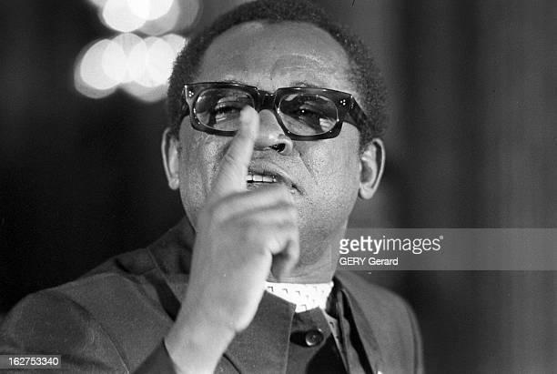 Mobutu Joseph In Paris En France le 22 mai 1978 Le président de la République Démocratique du Congo Sese Seko MOBUTU lors de la 5ème conférence...