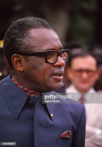 Mobutu Sese Seko dictator of the Republic of Zaire from 1965 to 1997 Kinshasa Zaire