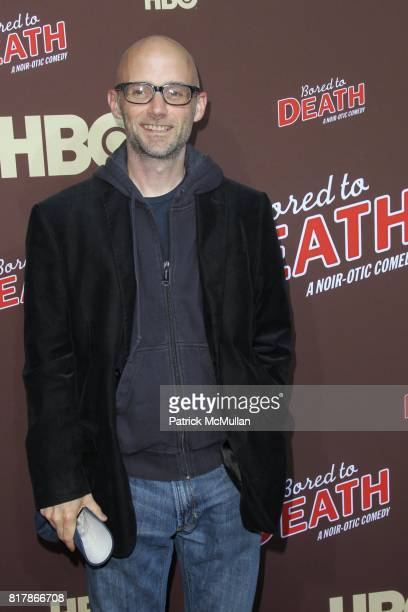 Moby attends HBO Presents the Season Premiere of BORED TO DEATH at NYU Skirball Center on September 21 2010 in New York City