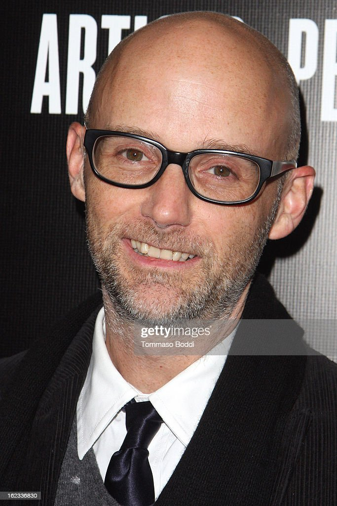 Moby attends the 6th annual Hollywood Domino Gala & Tournament held at teh Sunset Tower on February 21, 2013 in West Hollywood, California.