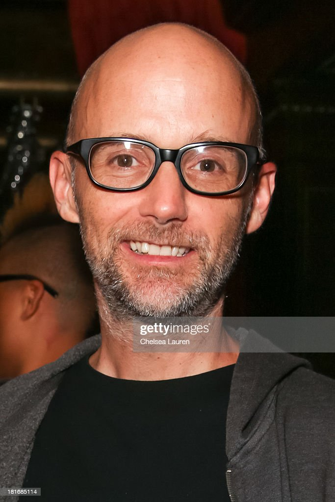 DJ Moby attends the M83 Post-Show Soiree At No Vacancy on September 22, 2013 in Hollywood, California.