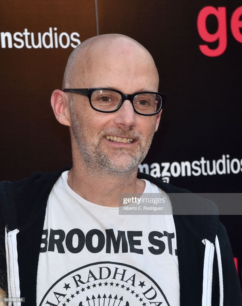 Moby attends the premiere of Amazon Studios' 'Generation Wealth' at ArcLight Hollywood on July 12, 2018 in Hollywood, California.