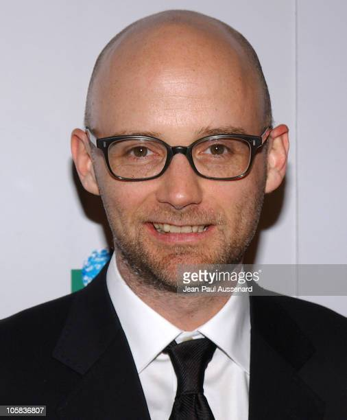 Moby during 20th Anniversary Genesis Awards Arrivals at Beverly Hilton in Beverly Hills California United States
