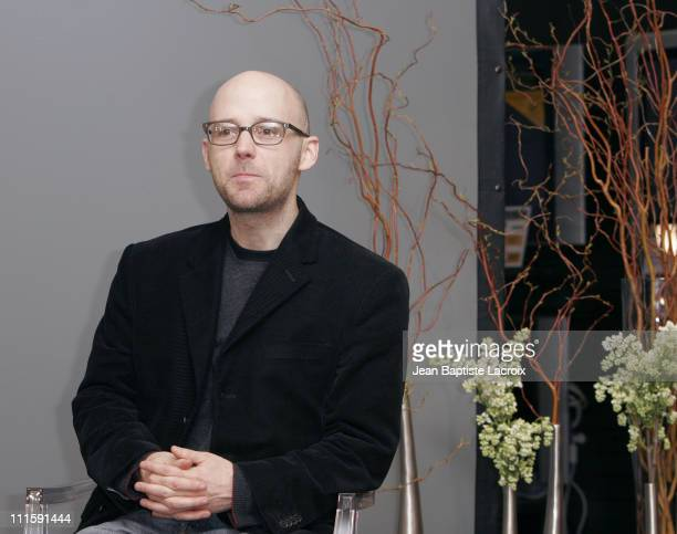 Moby during Moby InStore Conference and Album Signing for Hotel March 16 2005 at Fnac in Paris France