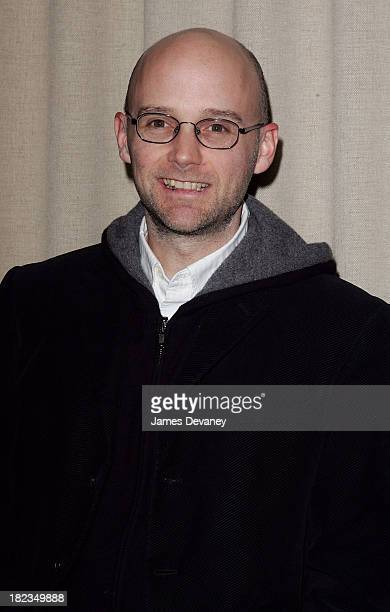 Moby during The Cinema Society and Calvin Klein Host a Screening of Factory Girl After Party at Gramercy Park Hotel in New York City New York United...