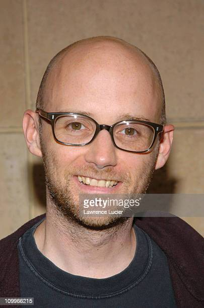 Moby during The Hunting of the President New York Premiere at Skirball Center for the Performing Arts in New York City New York United States