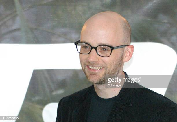 Moby during Ultra Music Festival 2005 at Bayfront Park in Miami Florida United States