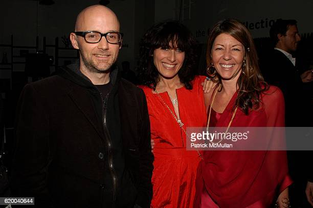 Moby Lisa Edelstein and Cindi Cook attend KolDesign and BoConcept's annual Holiday party at BoConcept on December 16 2008 in New York City