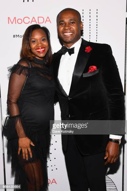 MoCADA Board Chair Kevin Johnson attends the MoCADA 3rd Annual Masquerade Ball at Brooklyn Academy of Music on October 25 2017 in New York City