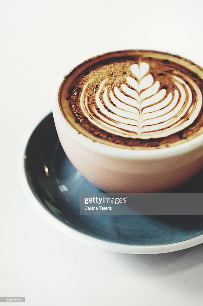 Mocha art : Stock Photo