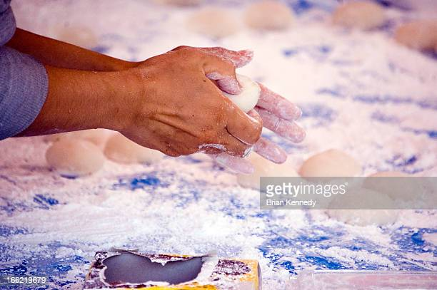 mochi hands - mochi stock photos and pictures