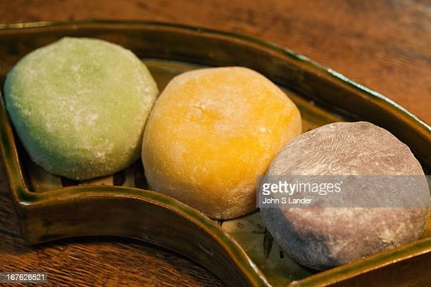 Mochi is a Japanese rice cake made of glutinous rice pounded into paste and then molded into shape Many types of traditional wagashi and mochigashi...
