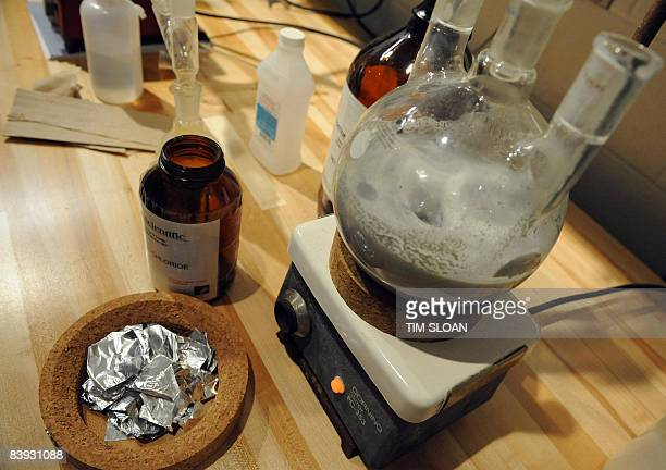 A mock ecstasy lab for teaching purposes at the new National Clandestine Laboratory Training and Research Facility December 5 2008 at the DEA...