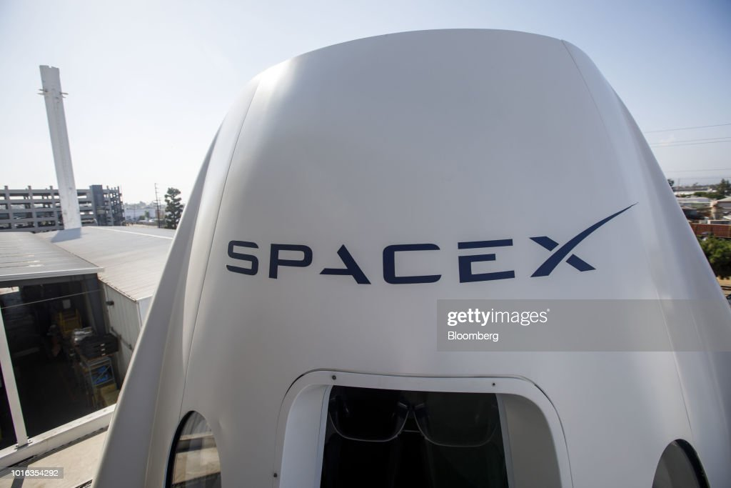 Commercial Crew Program Astronaut Visit At SpaceX Headquarters