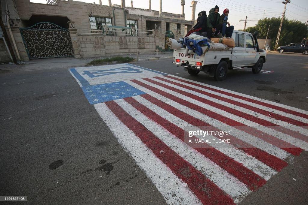 IRAQ-IRAN-POLITICS-UNREST-US : Foto di attualità