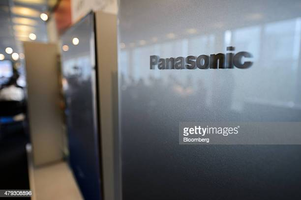 Mockup models of Panasonic Corp pure hydrogen fuel cells are displayed at the Wonder LifeBOX showcase inside the Panasonic Center Tokyo in Tokyo...
