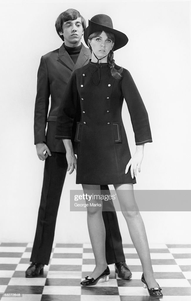Mod couple : Stockfoto