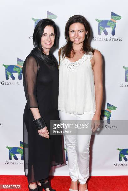 Mod Davis and Dr Scarlett Magda attend Elizabeth Shafiroff and Lindsey Spielfogal Host the First Annual Global Strays Fund Raising Party at Rumpus...