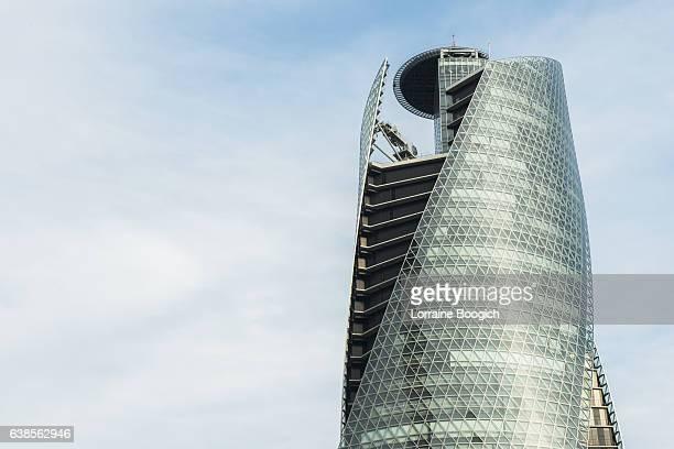 mode gakuen sprial towers building nagoya japan urban architecture - 名古屋 ストックフォトと画像