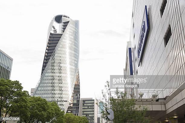 mode gakuen sprial towers building nagoya japan urban architecture - 中部地方 ストックフォトと画像