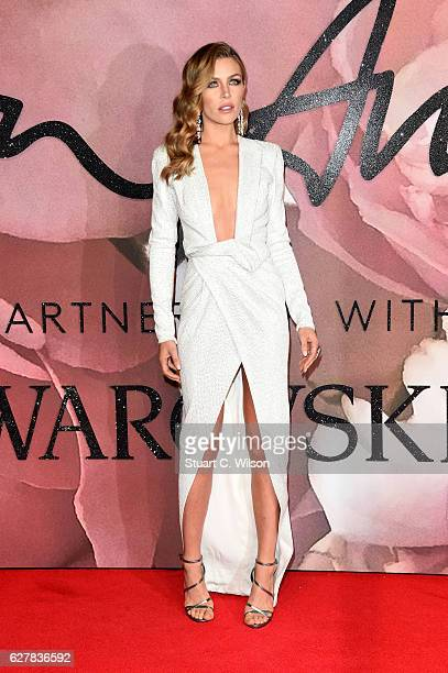 Model Abbey Clancy attends The Fashion Awards 2016 on December 5 2016 in London United Kingdom