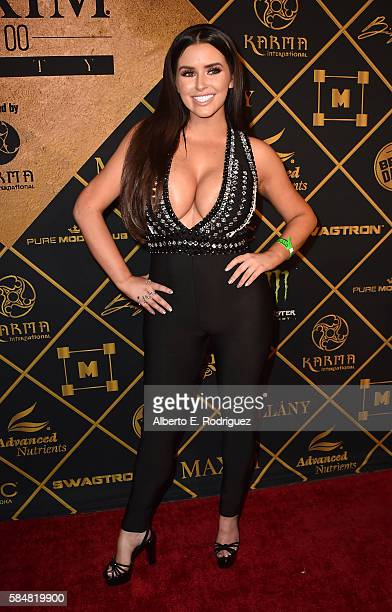 Model Abigail Ratchford attends the Maxim Hot 100 Party at the Hollywood Palladium on July 30 2016 in Los Angeles California