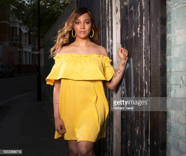 Model activist and former club owner Munroe Bergdorf is photographed for the Observer on May 8 2018 in London England